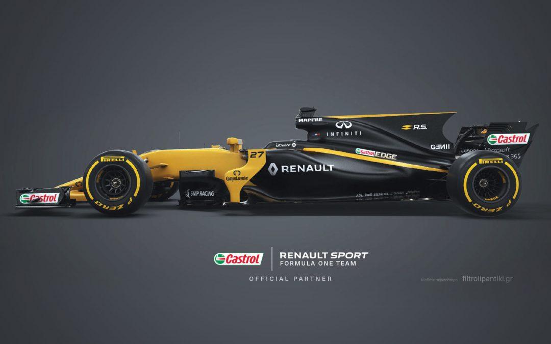 Συνεργασία CASTROL – RENANAULT στη Formula 1