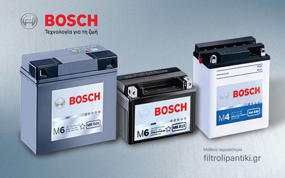 BOSCH – Μπαταρίες μοτοσυκλετών